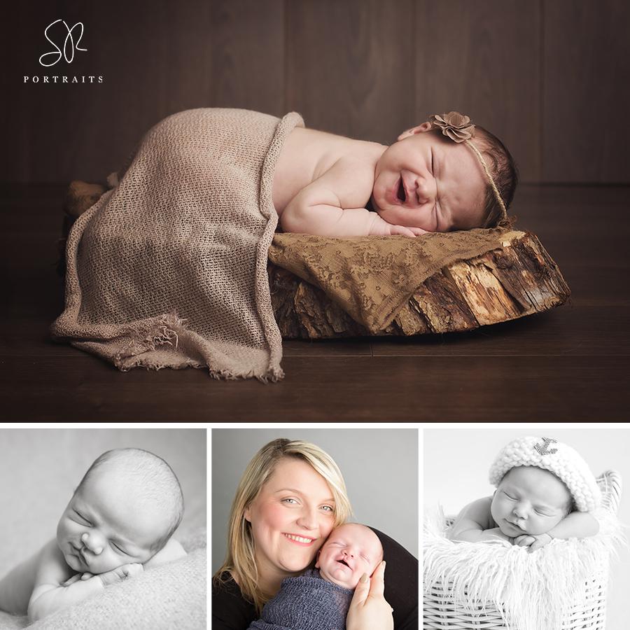 Smiley Newborn Babies, newborn photography leicester, SR Portraits