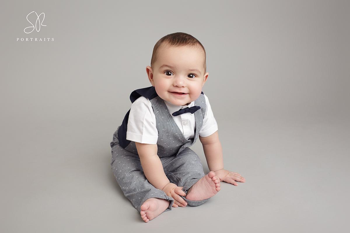 SR Portraits Coalville 12 month old